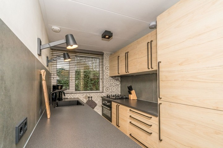 Die neue offene Küche mit allem Komfort