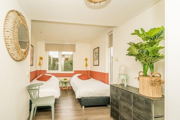 Schlafzimmer 2 mit 2 Luxus Einzelbetten