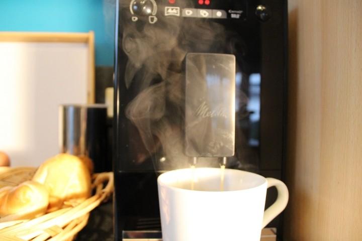 Guter Kaffee  - frisch gemahen