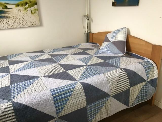 Schafzimmer 1 mit Doppelbett