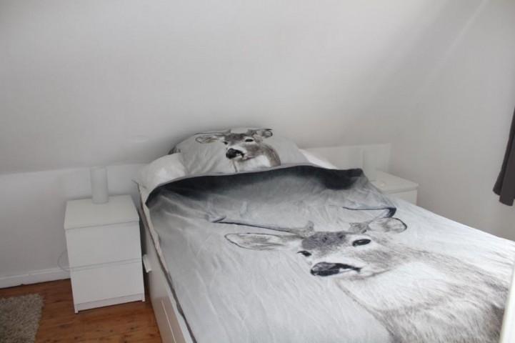 Schlafzimmer 2 mit einem 1,40m breiten Doppelbett