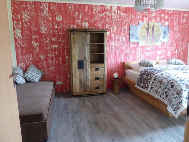 Schlafzimmer 1 mit Aufbettungsmöglichkeit
