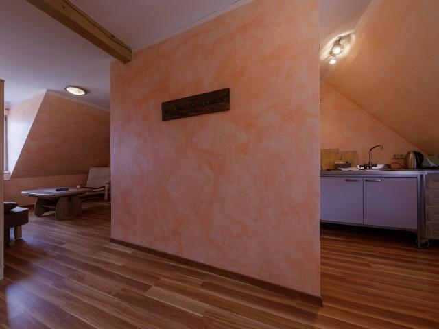 kombinierter Wohn/ Schlafbereich