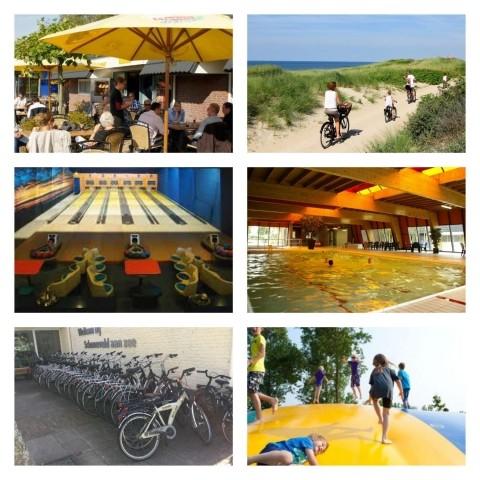 Restaurant, Bowlingbahn, Fahrradausleih, Schwimmbad, Airtrampoline und noch mehr!