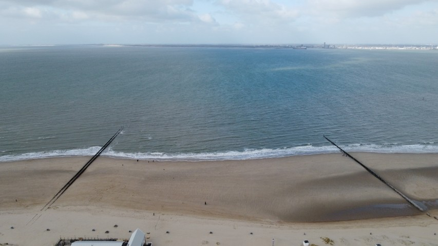 der weite Strand