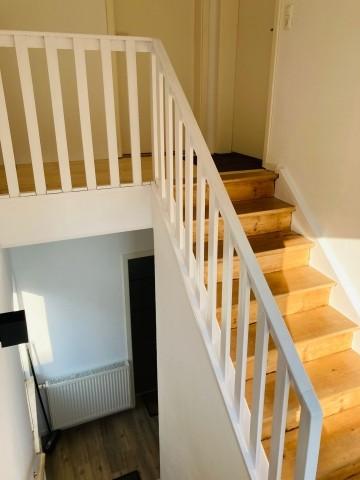 Treppenaufgang - komplettes 1. OG FeWo