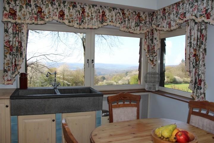 Panoramafenster in der Küche