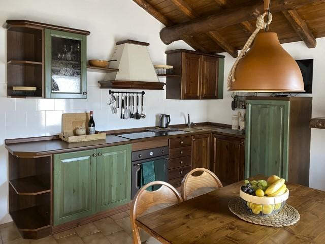 Wohnküche Casa Alba