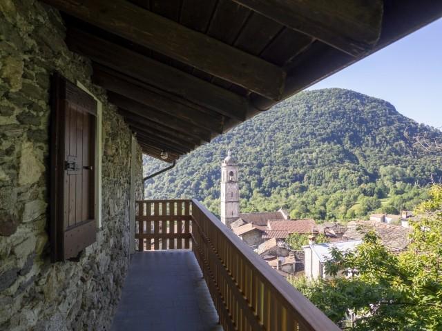 Treppenaufgang Casa Alba