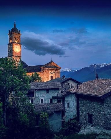Umgebung Casa Alba: Livo, San Giacomo Nuova