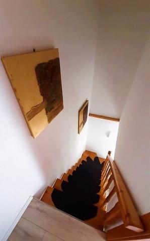 Treppe in oberer Etage
