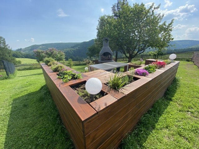 Sommer-Grill-Terrasse