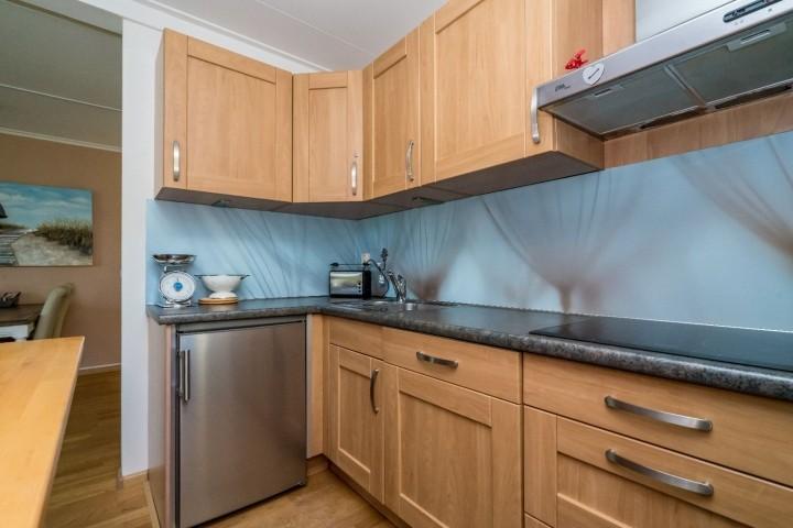 Die Küche mit allem Komfort