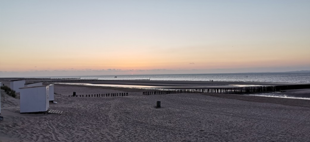 Breskens Strand Abendstimmung