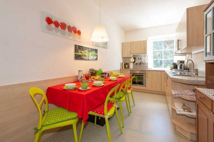 Ferienwohnung Residence Wohnküche