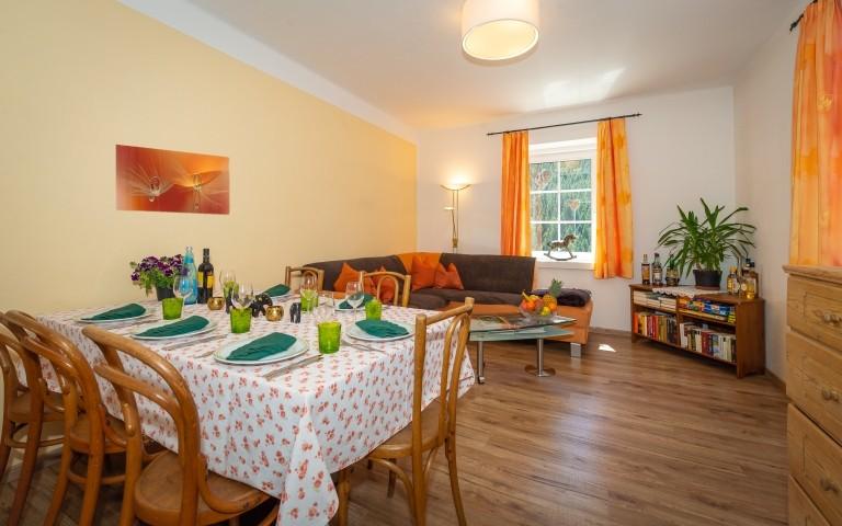 Ferienwohnung Residence Wohnzimmer