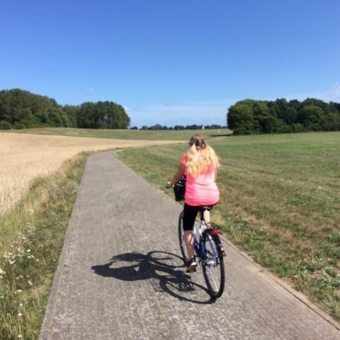 Zirchow ist dem Fahrradweg Usedom angeschlossen