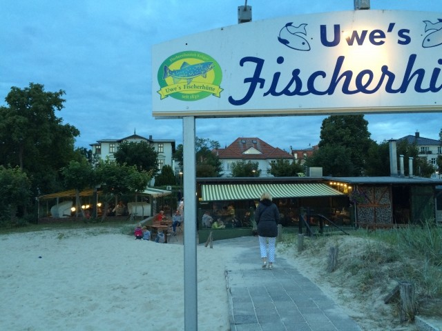 Lecker Fisch am Strand
