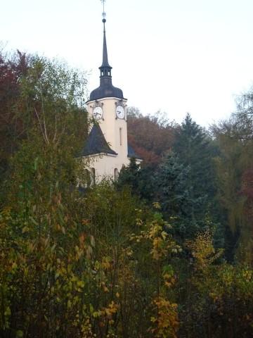 die Kirche von Hohenfichte