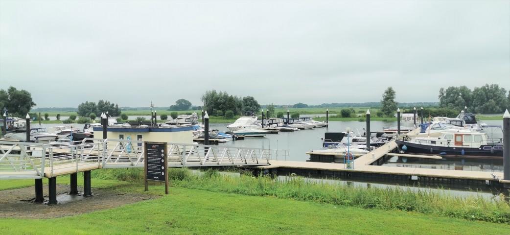 Jachthafen des Parks