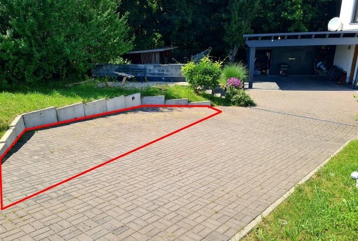 Parken in Parkbucht