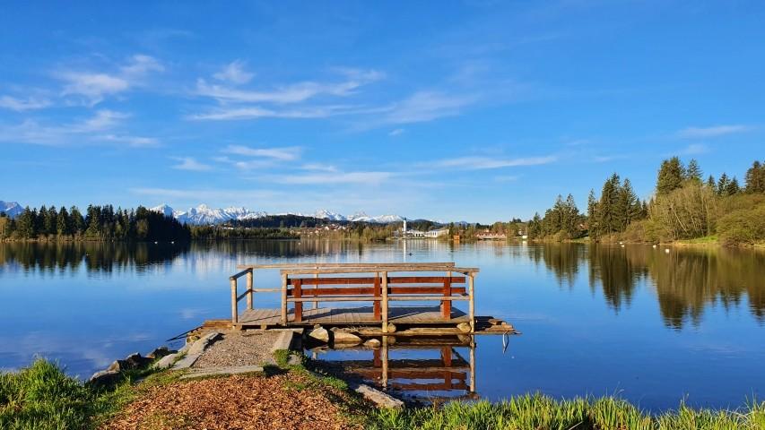 Floß am Lechsee