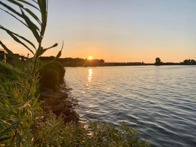 Sonnenuntergang Enkhuizen