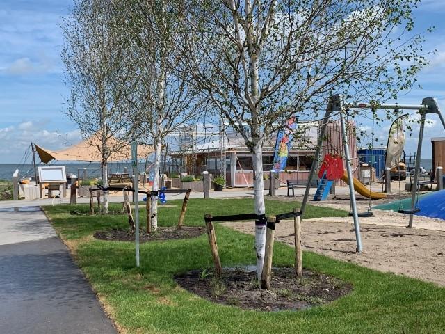 Spielplatz in der Parkanlage