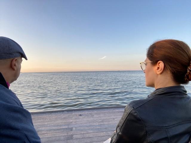 Blick aufs IJsselmeer in der Anlage