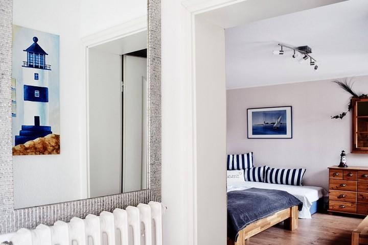 Blick ins Schlafzimmer EG