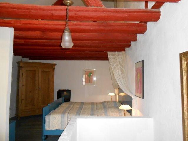 Schlafzimmer - Blick von der Treppe