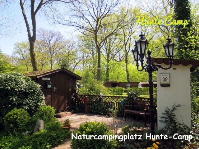 Eingangsbereich vom Campingplatz Hunte-Camp