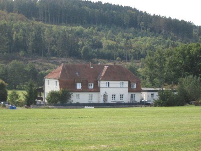 unser Landhaus im Sommer