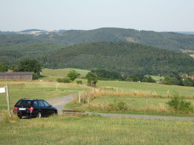 Blick von oben ins Tal II
