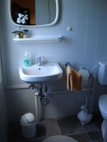Dusch- und Waschraum