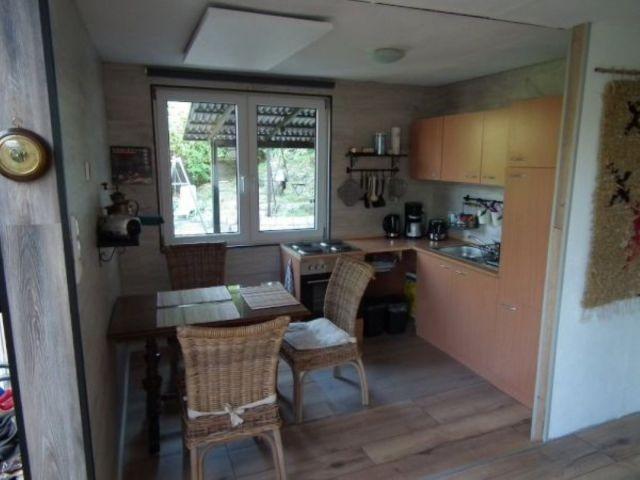 die Wohnküche mit Essbereich