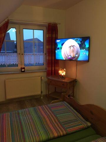 Schlafzimmer mit HDT TV