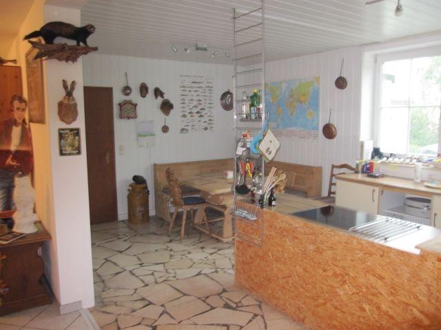 Urige Essecke im Erdgeschoss