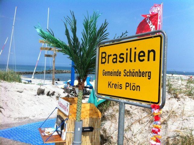 Brasilianisches Flair am Strand