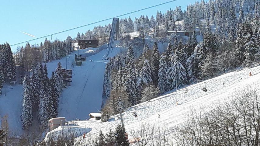 Schanzenanlage/ Skihang