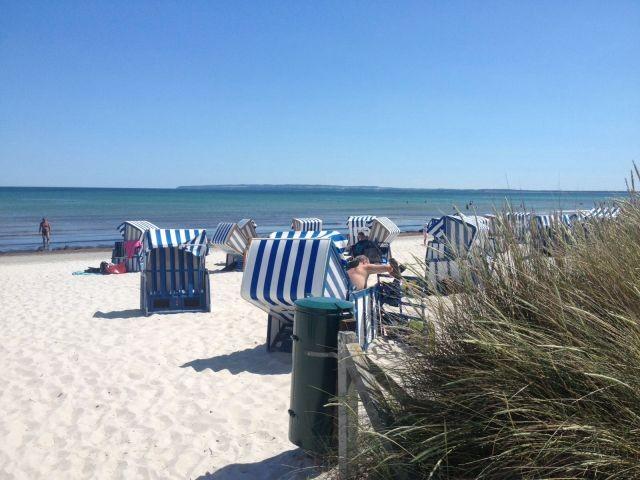 Strand der Schaabe in Juliusruh ( Hundestrand )