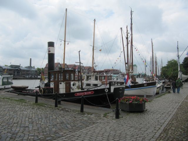 Alter Hafen in Leer