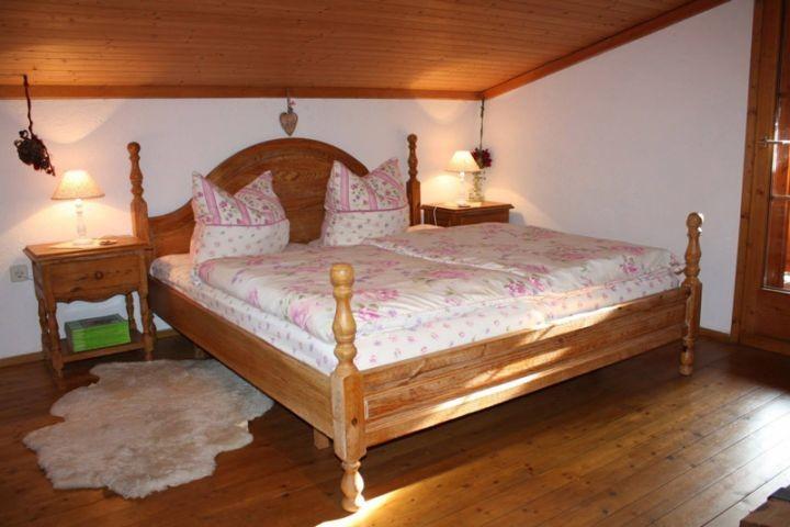 Das Dreibettzimmer mit Loggia