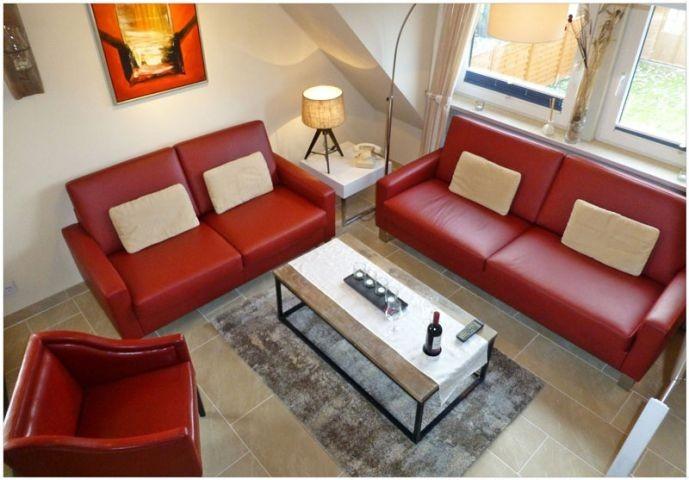 Wohnzimmer: 3-Sitzer,2-Sitzer, Sessel