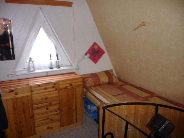 Kinderbett im Obergeschoss
