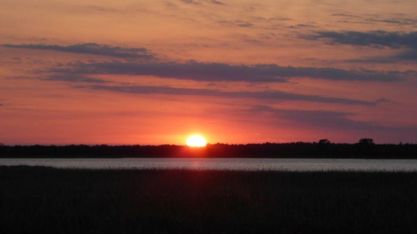 Sonnenuntergang in Kinnbackenhagen