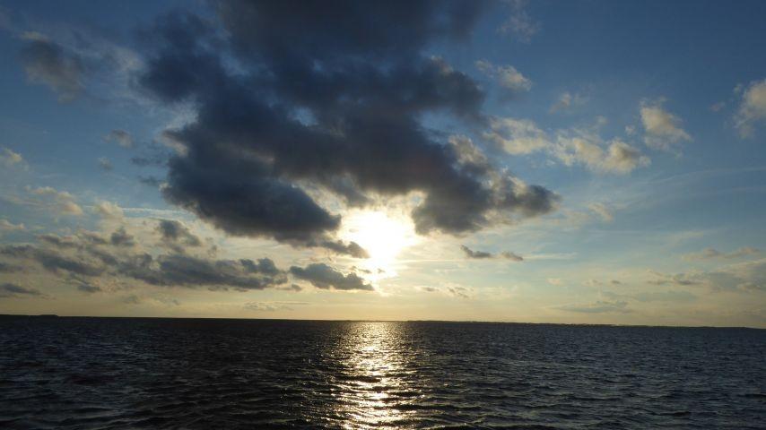 Sonnenuntergang auf Ummanz