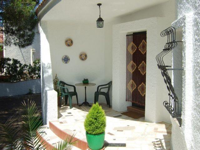 Der Eingangsbereich unseres Ferienhauses