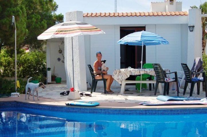 Cas Eivissa mit Privatpool