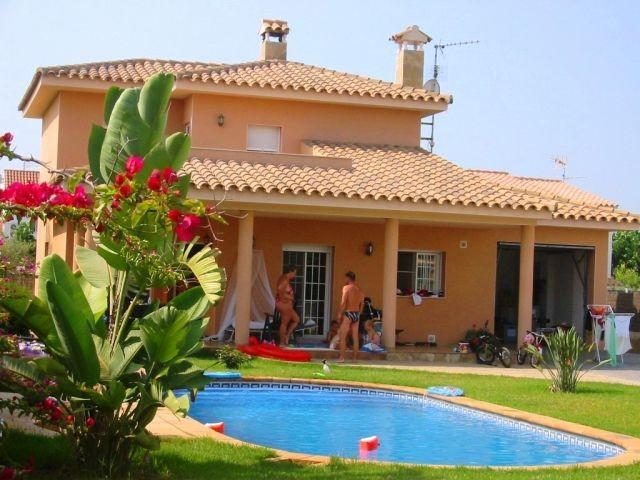 Unsere schöne Villa Javi für 8-9 Personen